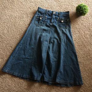 bb2026235c8d5 Women s Modest Jean Skirts on Poshmark